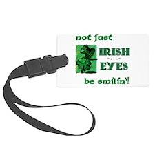 Irish Eyes Be Smilin' Luggage Tag