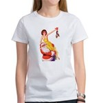 Santa's Hot Number Women's T-Shirt