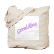 Cute Name geraldine Tote Bag