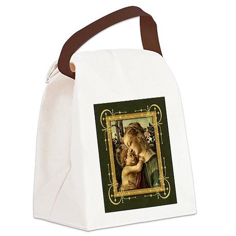 Filipepi_MadonnaChild_4x4_sm.gif Canvas Lunch Bag