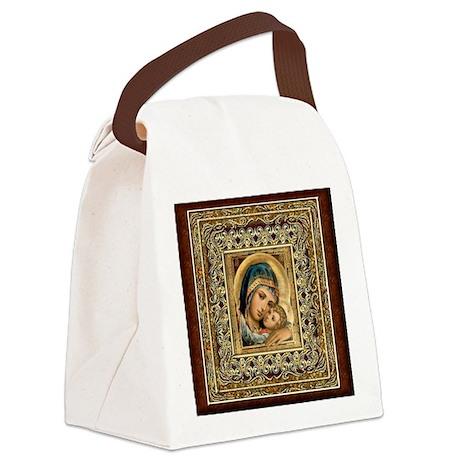 Theotokos Canvas Lunch Bag