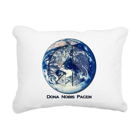 world_pacem.png Rectangular Canvas Pillow