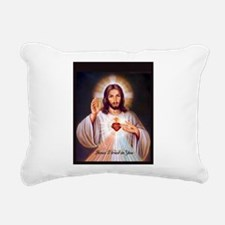 Cool Holy trinity Rectangular Canvas Pillow