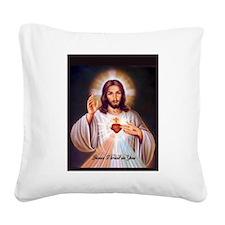 Unique Holy trinity Square Canvas Pillow