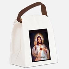 Funny Saint mary Canvas Lunch Bag