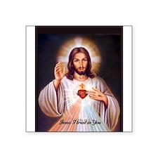 DivineMercy_notecard_front Sticker
