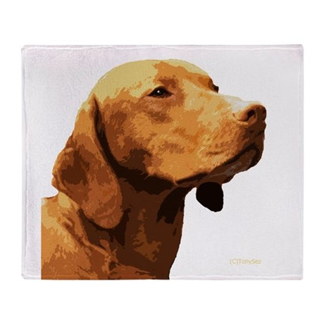 Vizsla Throw Blanket