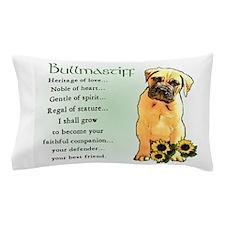 Bullmastiff Pup Pillow Case
