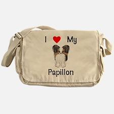 I love my Papillon (picture) Messenger Bag