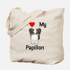 I love my Papillon (picture) Tote Bag