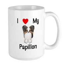I love my Papillon (picture) Mug