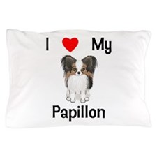 I love my Papillon (picture) Pillow Case