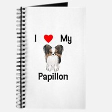I love my Papillon (picture) Journal