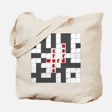 Crossword Nerd Tote Bag