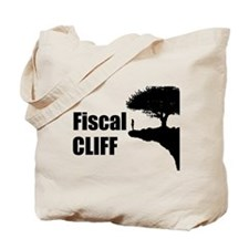 The Fiscal Cliff Tote Bag