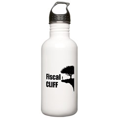 The Fiscal Cliff Water Bottle