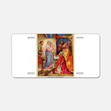 The Visit by the Three Wise Men Aluminum License P