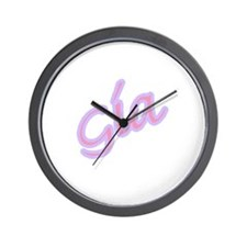 Cute Gina Wall Clock