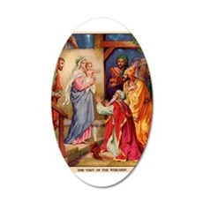 The Visit by the Three Wise Men Wall Decal
