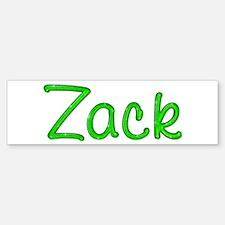 Zack Glitter Gel Bumper Bumper Bumper Sticker
