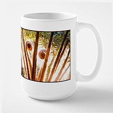 Fern Fronds Unfolding Large Mug