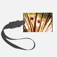 Fern Fronds Unfolding Luggage Tag