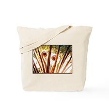 Fern Fronds Unfolding Tote Bag