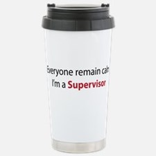 Cute Supervisor Travel Mug