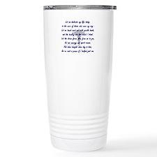 Unique Pt Travel Mug