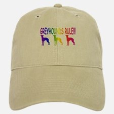 Greyhound Baseball Baseball Cap