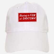 Red Racing Is Fun At Daytona Baseball Baseball Cap