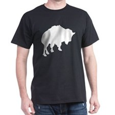 Bison Black T-Shirt