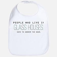 'Glass Houses' Bib