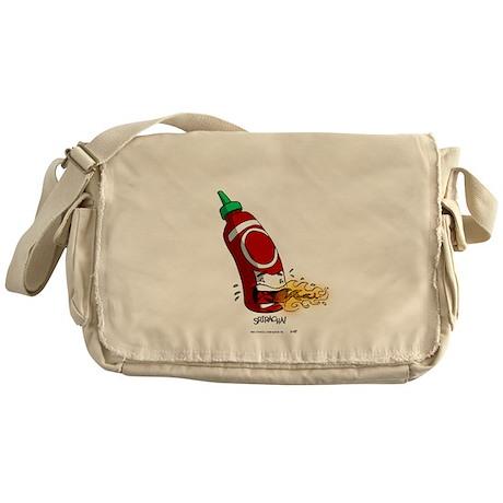 Sriracha! By TheSwitt.com Messenger Bag
