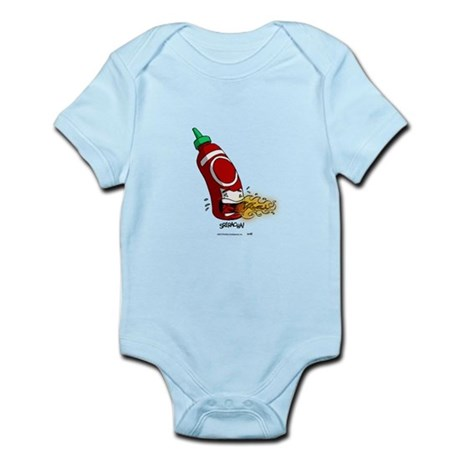 Sriracha! By TheSwitt.com Infant Bodysuit