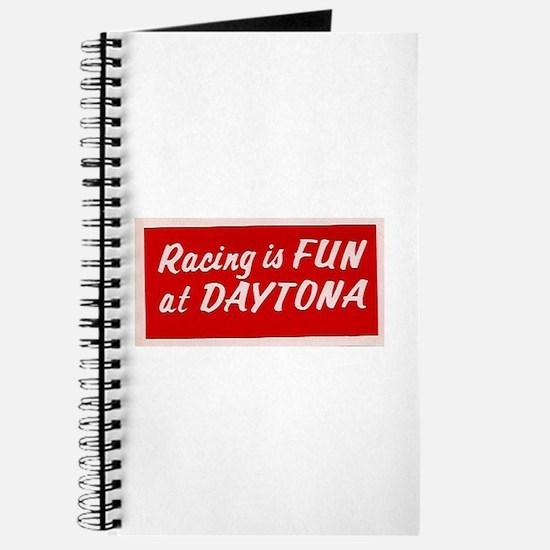 Red Racing Is Fun At Daytona (larger) Journal