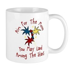 Aim For The Moon Mug
