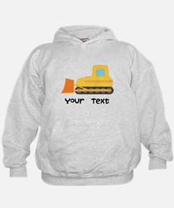 Personalized Bulldozer Hoodie