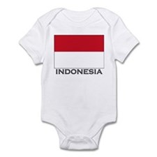 Flag of Indonesia Infant Bodysuit