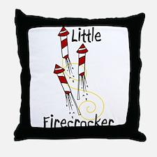 Little Firecracker Throw Pillow
