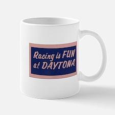 Racing Is Fun At Daytona (Blue) Mug