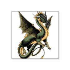 Great Dragon Rectangle Sticker