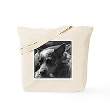 Cute Cattle dog Tote Bag