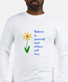 Believe in Yourself V3 Long Sleeve T-Shirt