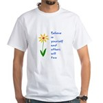 Believe in Yourself V3 White T-Shirt