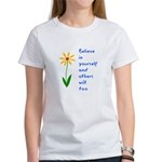 Believe in Yourself V3 Women's T-Shirt