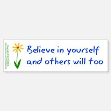 Believe in Yourself V3 Sticker (Bumper)