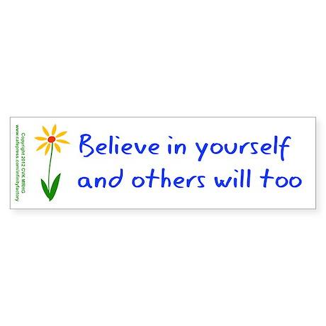 Believe in Yourself V3 Sticker (Bumper 10 pk)