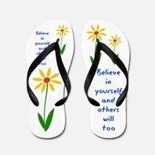 Believe in Yourself V3 Flip Flops