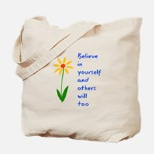 Believe in Yourself V3 Tote Bag